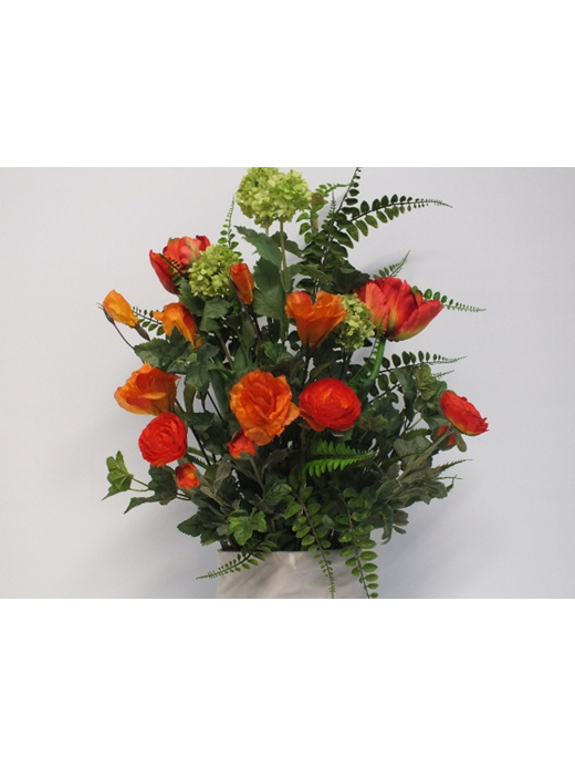 #artificialflowers #fakeflowers #decorflowers #fauxflowers#silk#oranges