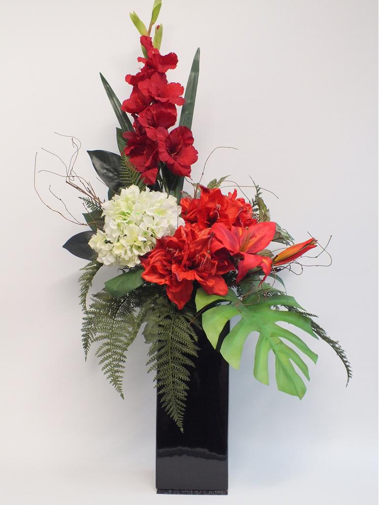 #artificialflowers #fakeflowers #decorflowers #fauxflowers#arrangement#tropical