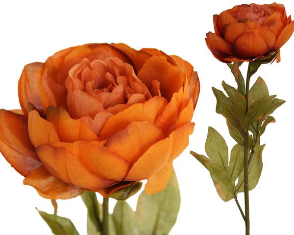 #artificialflowers #fakeflowers #decorflowers #fauxflowers #peonyorange