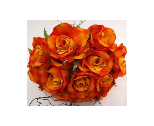 #artificialflowers #fakeflowers #decorflowers #fauxflowers#silk#rose#posy#orang#