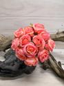 Rose Bud Posy Salmon 4139