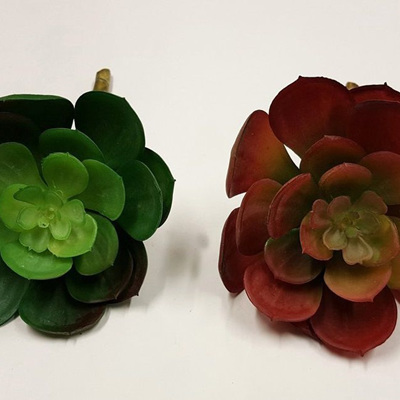 Succulent floral 1873 Red or Green