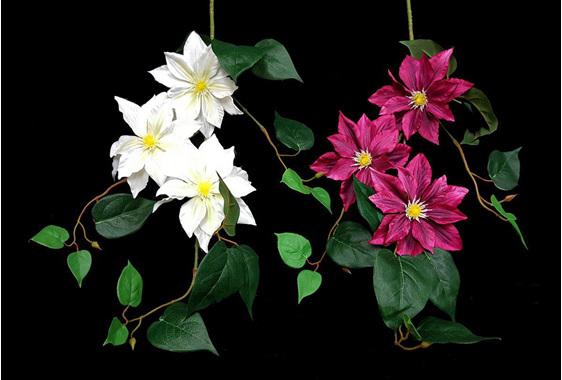 #artificialflowers #fakeflowers #decorflowers #fauxflowers#clematis