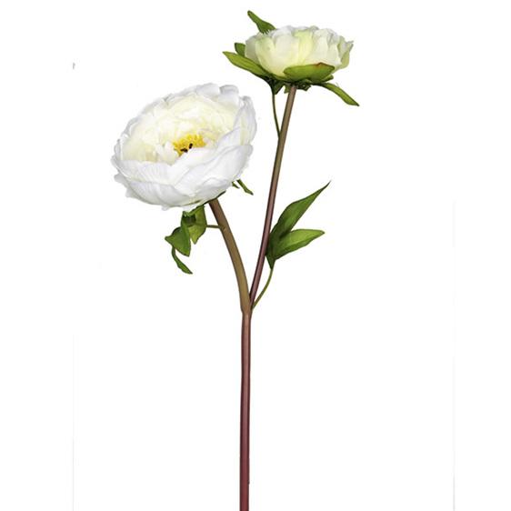 #artificialflowers #fakeflowers #decorflowers #fauxflowers#peony#white