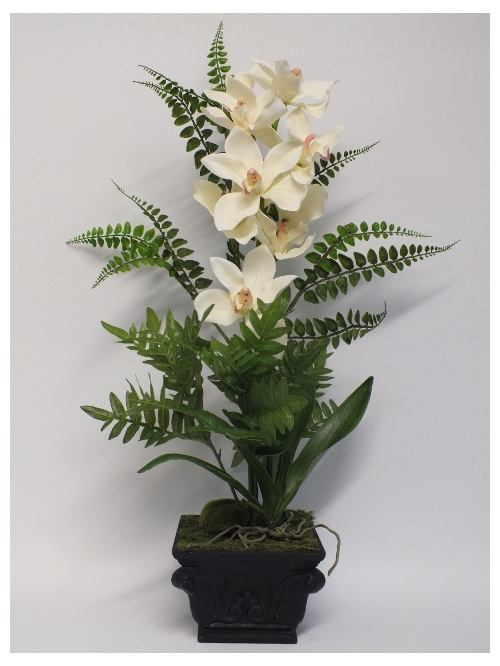 #artificialflowers #fakeflowers #decorflowers #fauxflowers#orchid#arrangement