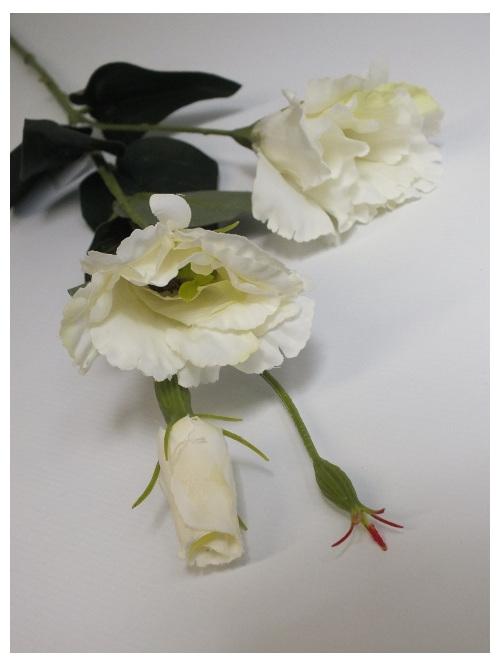 #artificialflowers #fakeflowers #decorflowers #fauxflowers#silk#lisianthus#white