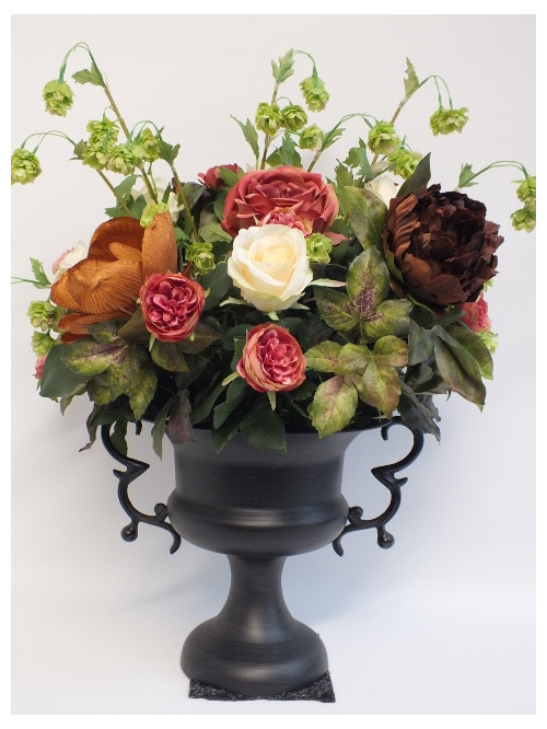 #artificialflowers #fakeflowers #decorflowers #fauxflowers#arrangement#browns