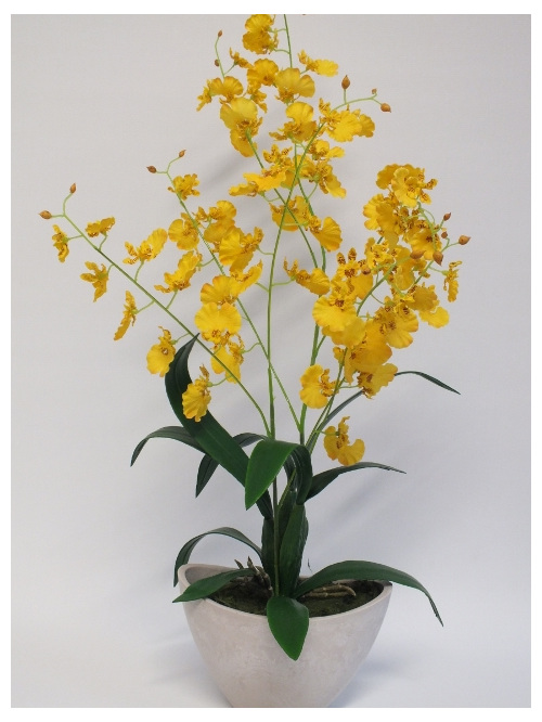 #artificialflowers #fakeflowers #decorflowers #fauxflowers#yellow#orchid