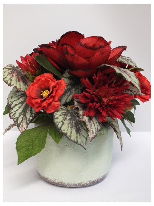 #artificialflowers #fakeflowers #decorflowers #fauxflowers#red