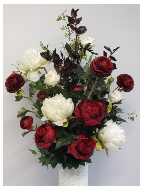 #artificialflowers #fakeflowers #decorflowers #fauxflowers# white