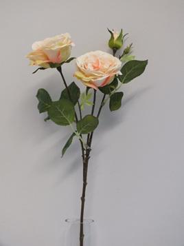 Rose spray Apricot 1974