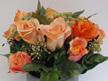 #artificialflowers #fakeflowers #decorflowers #fauxflowers#arrangement#orange