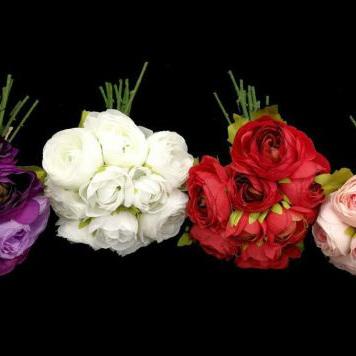 Ranunculus Posy 1966 4000 4001 4002