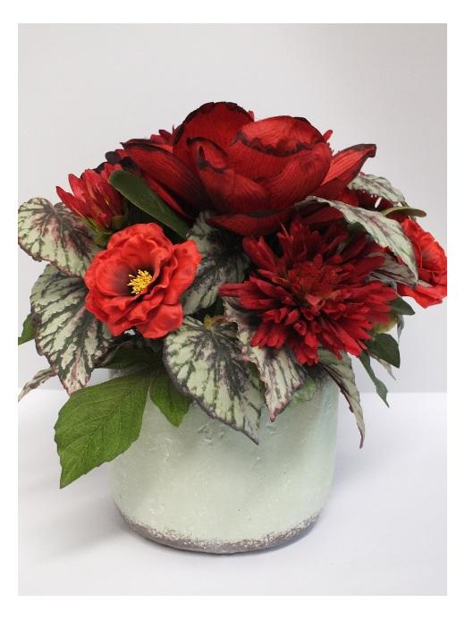 #artificialflowers #fakeflowers #decorflowers #fauxflowers#red