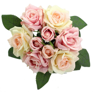 Posy Rose 9 stems 4078