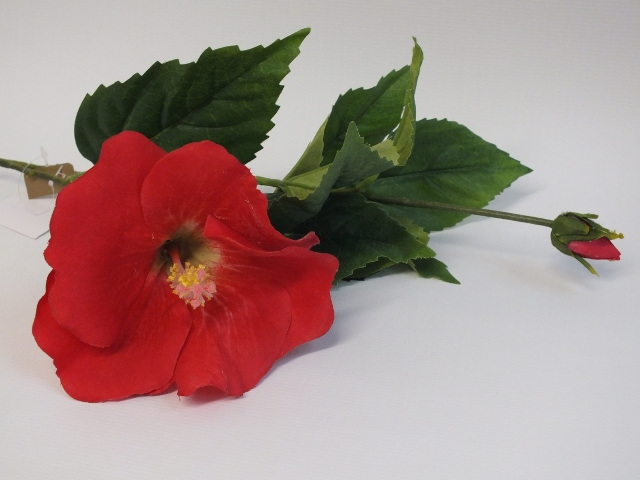 #artificialflowers #fakeflowers #decorflowers #fauxflowers#silk#hibiscus#red