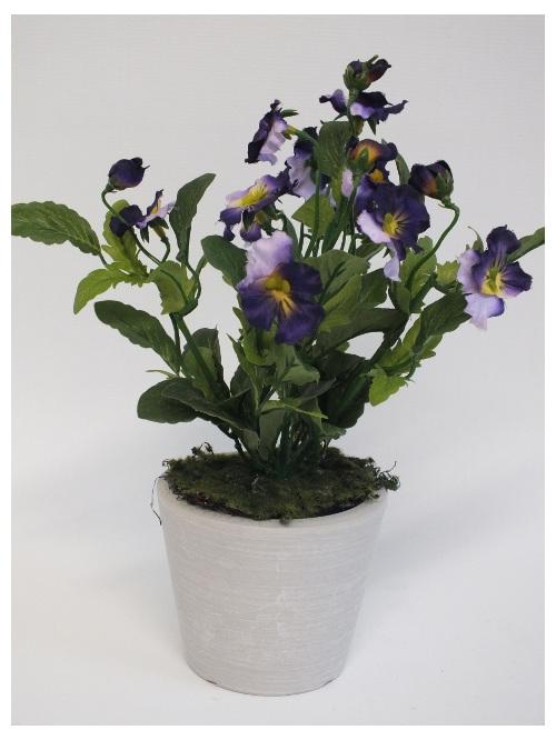 #artificialflowers #fakeflowers #decorflowers #fauxflowers#silk#pansy