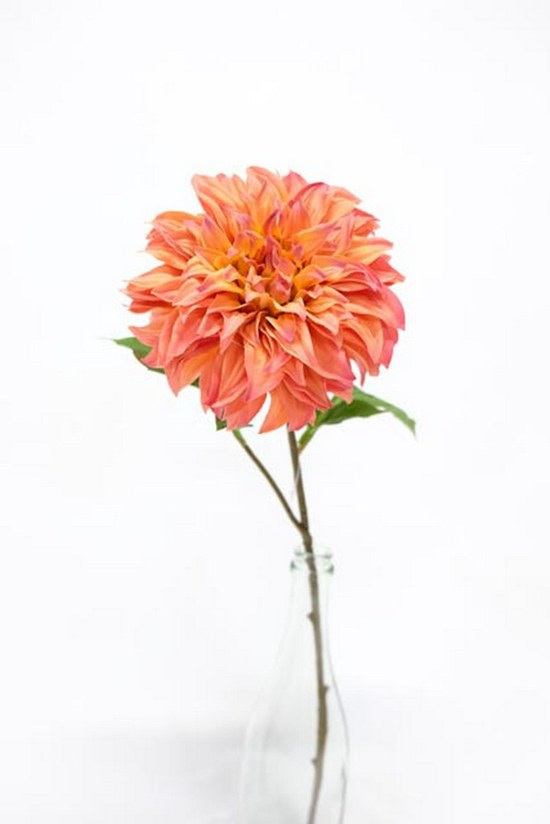 #artificialflowers#fakeflowers#decorflowers#fauxflowers#dahlia#tangerine#orange