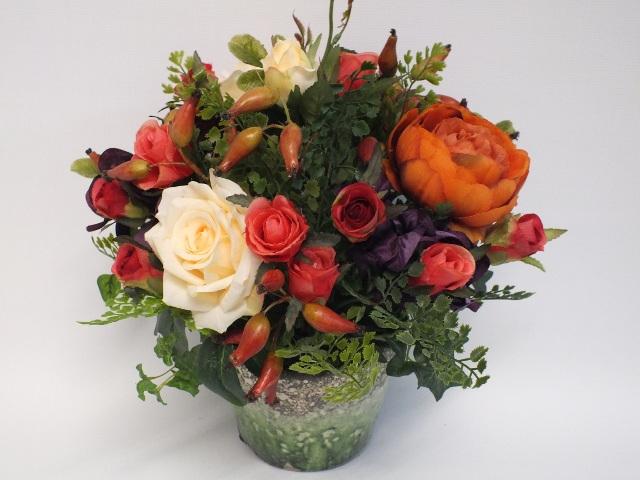 #artificialflowers#fakeflowers#decorflowers#fauxflowers#silkflowers#orange#green