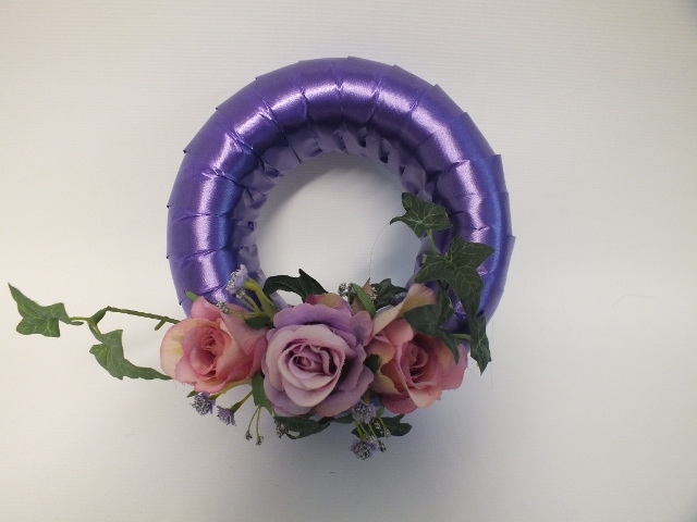 #artificialflowers#fakeflowers#decorflowers#fauxflowers#silkflower#wreath#purple