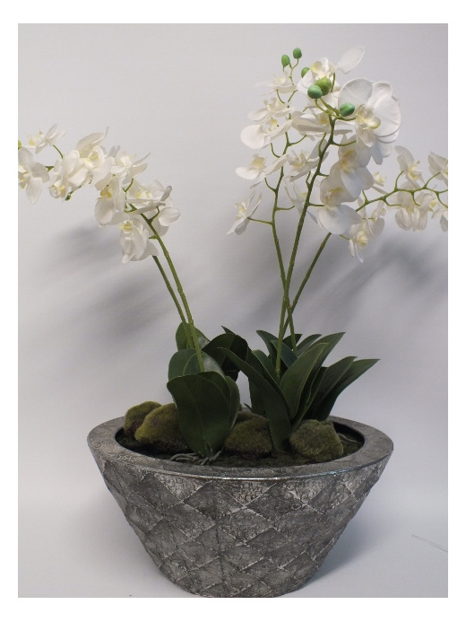 #artificialflowers#fakeflowers#decorflowers#fauxflowers#orchid#white