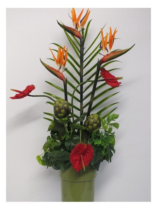 #artificialflowers#fakeflowers#decorflowers#fauxflowers#tropical#arrangement