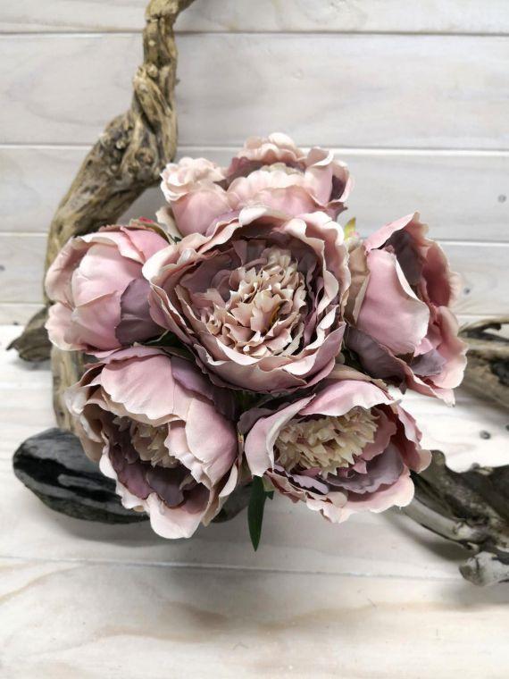#artificialflowers#fakeflowers#decorflowers#fauxflowers#silkflowers#posy#mauve