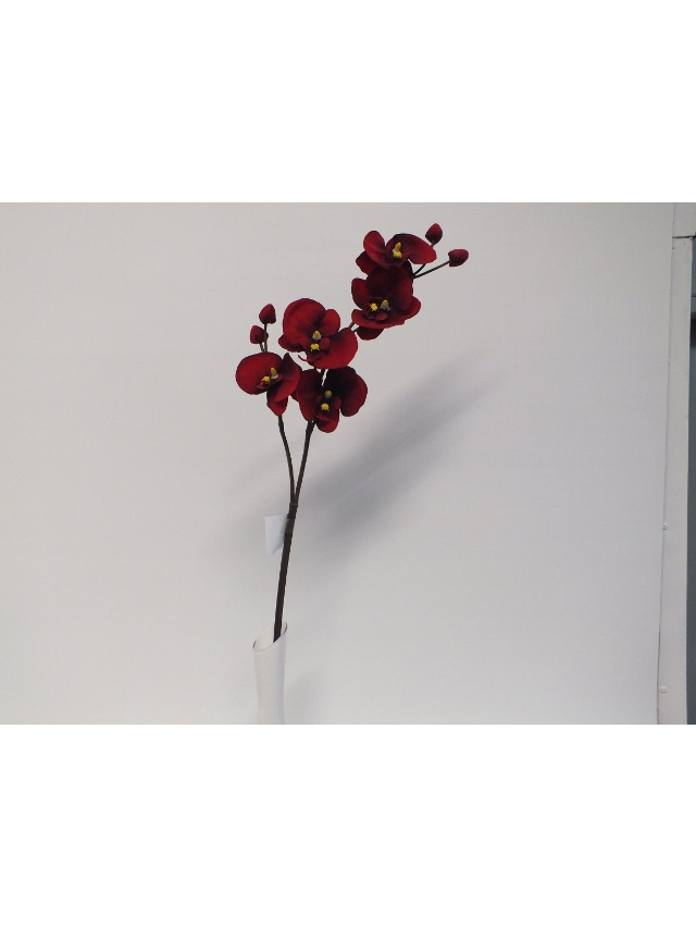 #artificialflowers#fakeflowers#decorflowers#fauxflowers#silkflowers#orchid#red