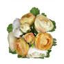Ranunculus Posy 4467 Yellow/Cream