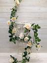 Rose Garland 4507 Champange