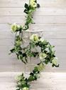 Rose Garland 4509 Green