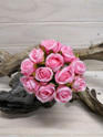 Rose Bud Posy Pink 4141