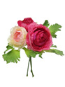 Ranunculus 3 stem posy Rose Pink 4064