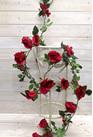 Rose Garland 4506 Margenta