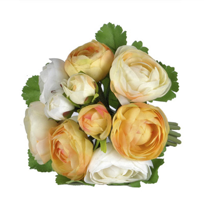 Ranunculus Posy 4467 Yellow/Cream