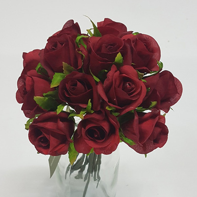 Rose Bud Posy red 4469