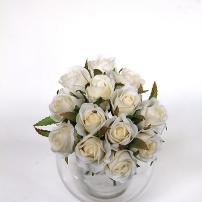 Rose Bud Posy white 4468