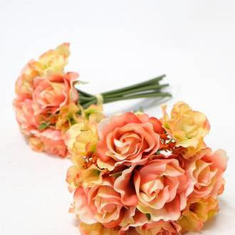 Rose posy Tangerine 4471