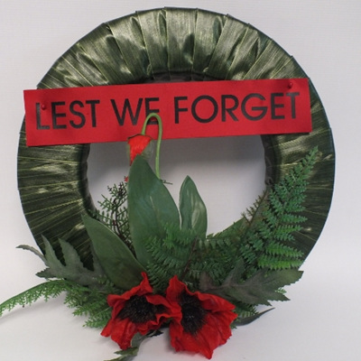 ANZAC wreath 2179