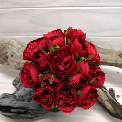 Rose Posy David Austin style Red 4126