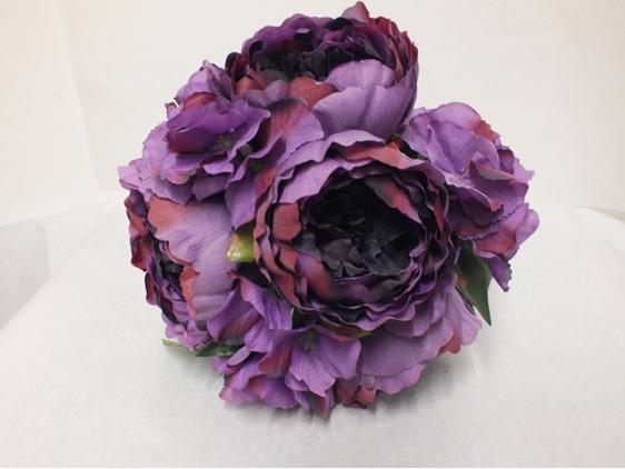 #artificialflowers#fakeflowers#decorflowers#fauxflowers#posy#peony#mauve