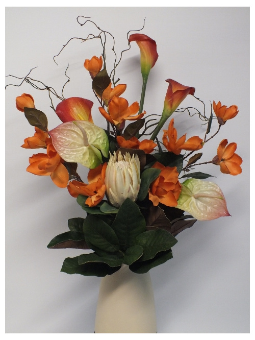 #artificialflowers#fakeflowers#decorflowers#fauxflowers#anthurium#tropical#apric