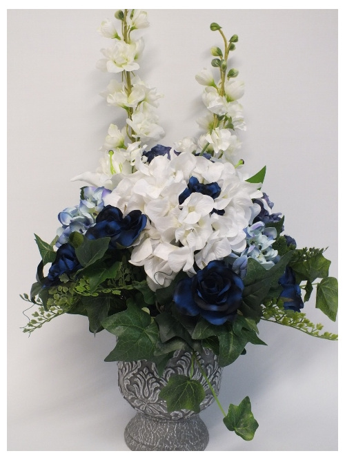 #artificialflowers#fakeflowers#decorflowers#fauxflowers#silkflowers#blue#white