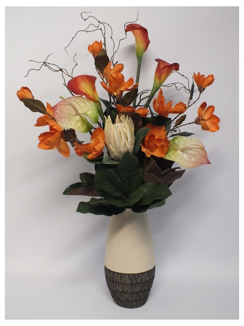 #artificialflowers#fakeflowers#decorflowers#fauxflowers#apricot#tropical