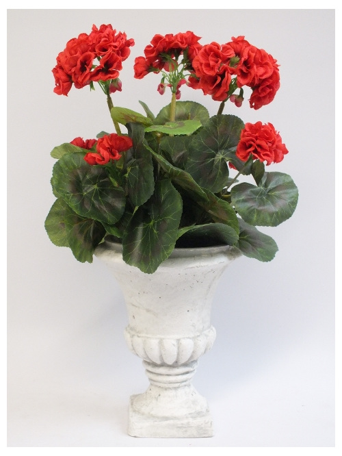 #artificialflowers#fakeflowers#decorflowers#fauxflowers#silkflowers#geranium#red