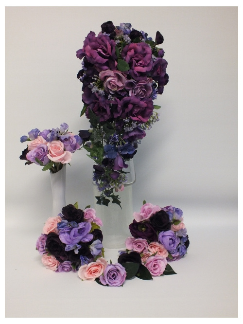 #artificialflowers#fakeflowers#decorflowers#fauxflowers#silkflowers#bridalpurple