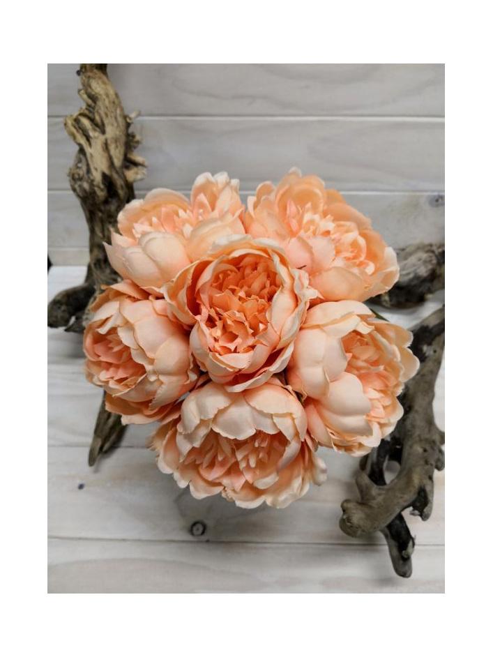 #artificialflowers#fakeflowers#decorflowers#fauxflowers#silkflowers#posy#peach