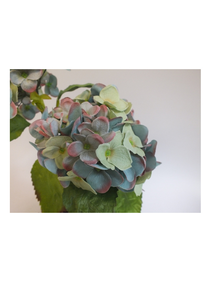 #artificialflowers#fakeflowers#decorflowers#fauxflowers#potted#hydrangea#antique