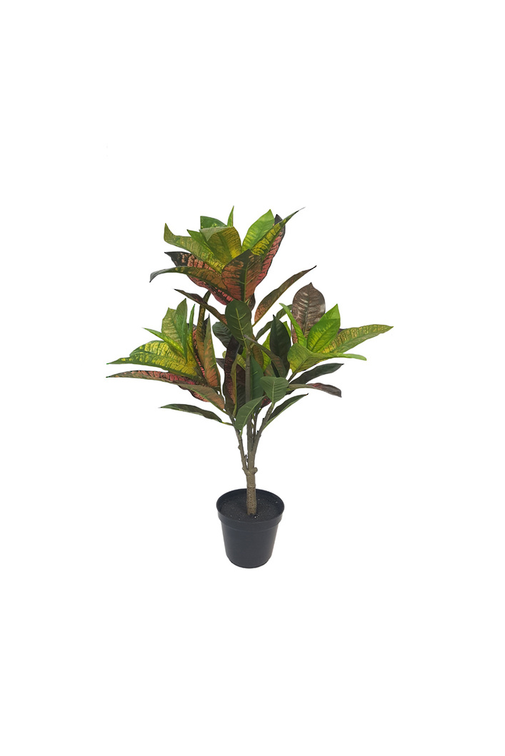 #artificialflowers#fakeflowers#decorflowers#fauxflowers#potted#croton#plant