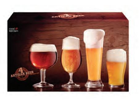 Artisan Beer Combination Set 4 piece
